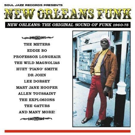 Various<br>New Orleans Funk (New Orleans: The Original Sound Of Funk 1960-75)<br>3LP, Comp, RP